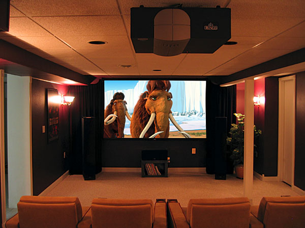 Home theater design home gallery Home theater architecture