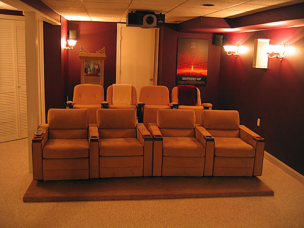 home theater design home gallery. Black Bedroom Furniture Sets. Home Design Ideas