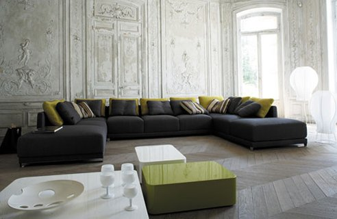 Green Living Room Design Ideas « Home Gallery