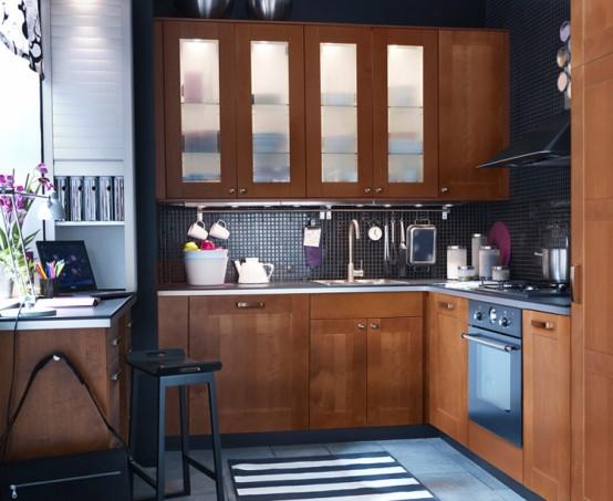 Home Architec Ideas Kitchen Design Wood Work