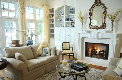 Interior Living Room Design on Traditional Living Room   Note The Beautiful  Decorative Detail
