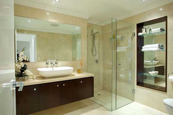 luxury residence in Hamilton Brisbane bathroom