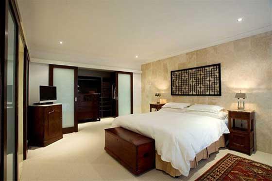 luxury residence in Hamilton Brisbane bedroom design
