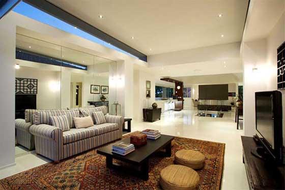 luxury residence in Hamilton Brisbane living room