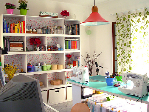 Home office design for individual workplace