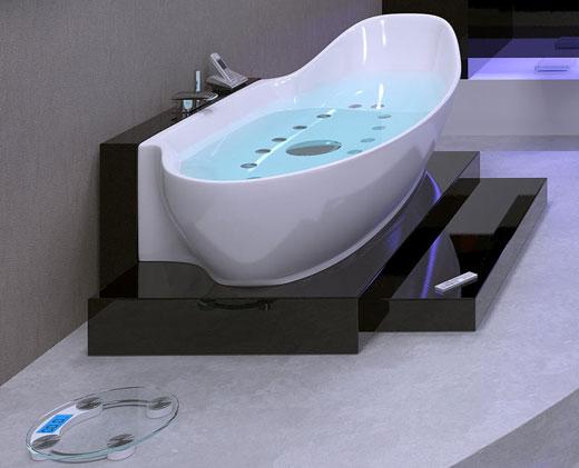Amazing ultra modern bathroom designs inspiration home for Bathroom tub inserts