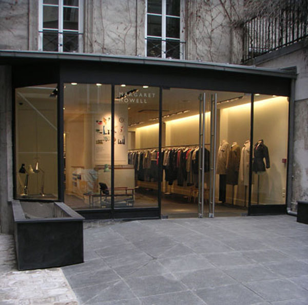 Minimalist interior design margaret howell flagship store and studio
