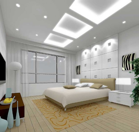 Luxury master bedroom decorating design ideas home gallery - Master bedroom ceiling designs ...